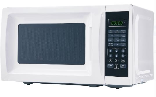 Mainstays White Microwave Ove
